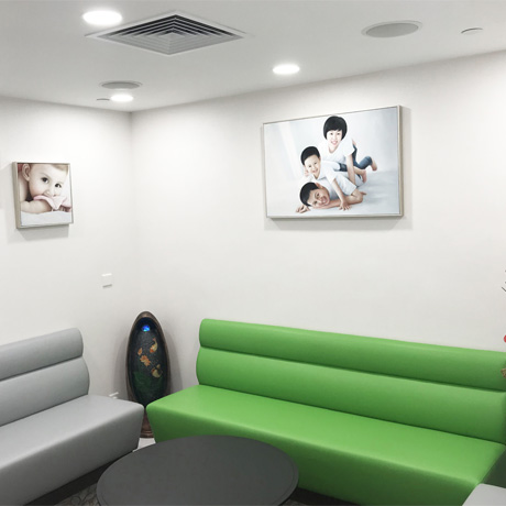 候诊处 Waiting Area